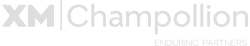 Logo XM-Champollion (grey)